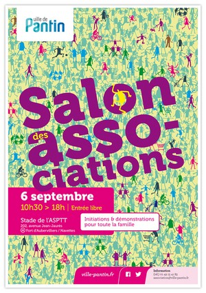 Salon des Associations 2014 de Pantin (93)