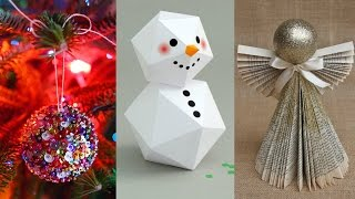 DIY ROOM DECOR !  15 DIY Projects for Christmas n Winter ! Decorating ideas for a Frozen Room